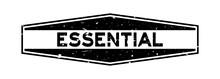 Grunge Black Essential Word He...
