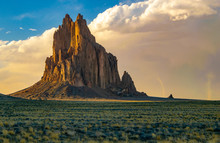 Shiprock And Dust Devils