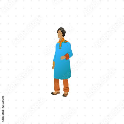 Photo  Hindu isolated illustration