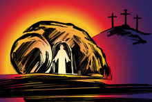 Easter Jesus Christ Rose From ...