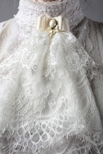 Fragment Of A Victorian Dress ...