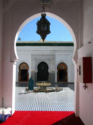 Poster Abou Dabi Meknes, Morocco