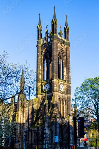 The Church Of St Thomas The Martyr Barras Bridge Newcastle Upon Tyne, England, UK, United Kingdom, Europe Wall mural