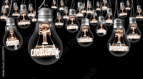 Photo  Light Bulbs Concept