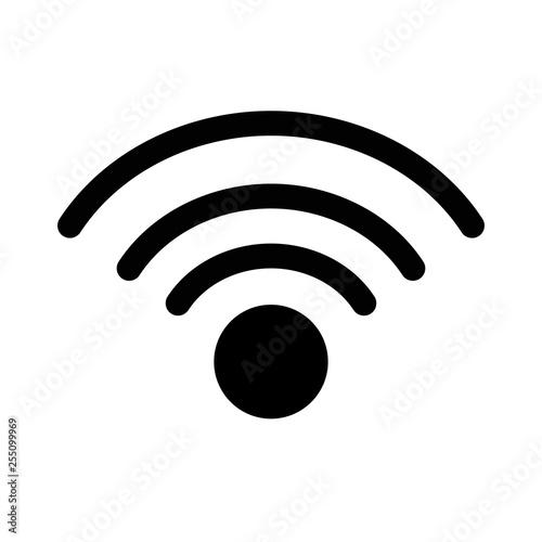 signal wifi pin locator Wall mural