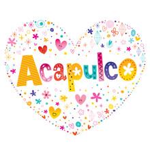 Acapulco City In Mexico