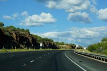 American Highway Beautiful Landscape
