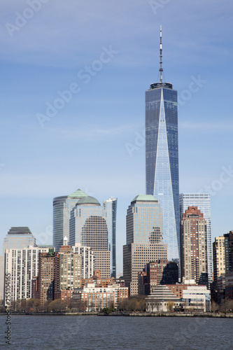 Photo  The World Trade Centre in Manhattan New York with the Freedom Tower