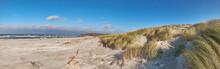 Windy Beach In Hiddensee Islan...