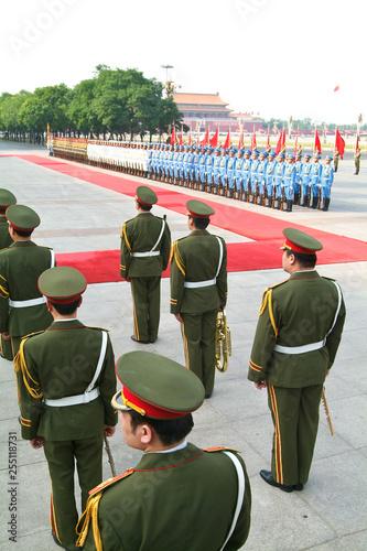 Fotomural  CHINE armée militaire communiste