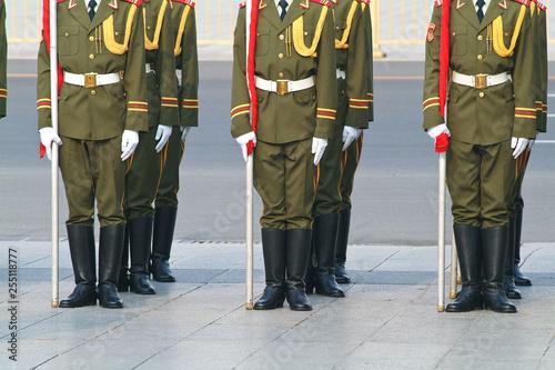Cuadros en Lienzo  CHINE armée communisme militaire