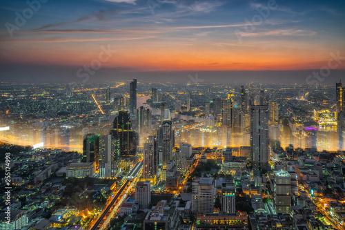 Photo  Bangkok city