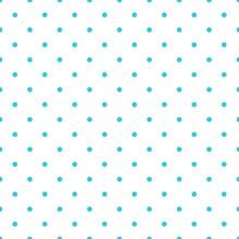 Blue Vector Seamless Pattern Background Polka Dot