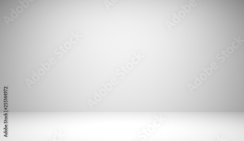 Fotografía  Abstract luxury white gradient background used for display product ad and website template, 3D illustration
