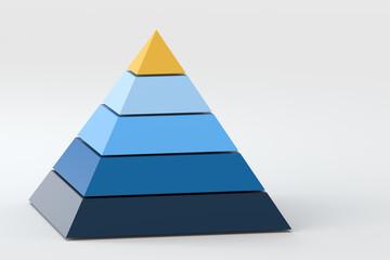 3d model pyramid, 3d rendering