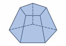 Pentagonal Pyramid Trunk Illus...