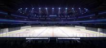 Grand Ice Hockey Arena Inside ...