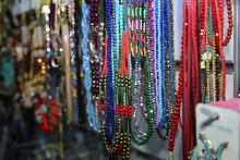 Beads And Colorful Necklaces