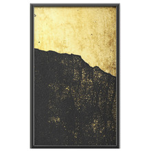 3D Wall Art, Gold Leaf Abstract Painting