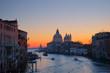 Sunrise along the Grand Canal