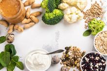 Various Meatless Protein Food