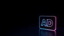 3d Icon Of Audio Description