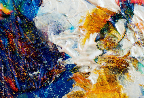 Abstract color background. Colorful blots. Marble texture.