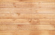 Leinwandbild Motiv Wood brown texture background. Natural wooden planks.