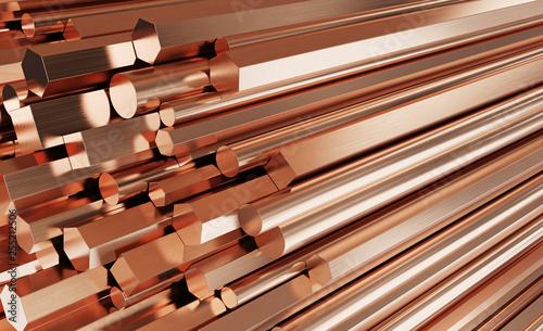 Fotografija Copper metal products