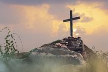 Stairs To The Cross Of Jesus Christ 3d Render
