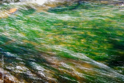 Photo sur Toile Les Textures water in the river