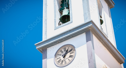Small White Church Typical Of The Algarve In Portugal Buy