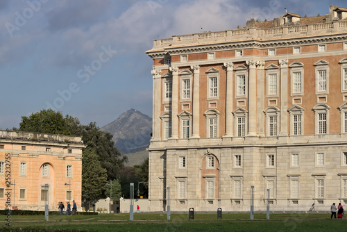 Main external  facade of the Royal Palace of Caserta (Italy) Tableau sur Toile