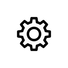 Gear Icon Vector. Gear Vector ...