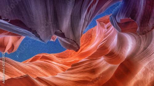 Foto op Aluminium Antilope Famous Antelope Canyon, Arizona, USA