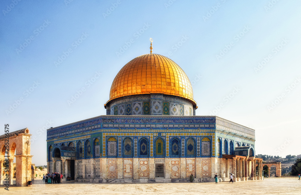 Fototapety, obrazy: Dome of the Rock, Qubbat Al-Sakhrah, Jerusalem, Israel