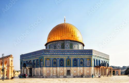 Fotografia  Dome of the Rock, Qubbat Al-Sakhrah, Jerusalem, Israel