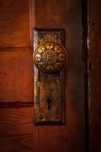 Close Up Of Doorknob