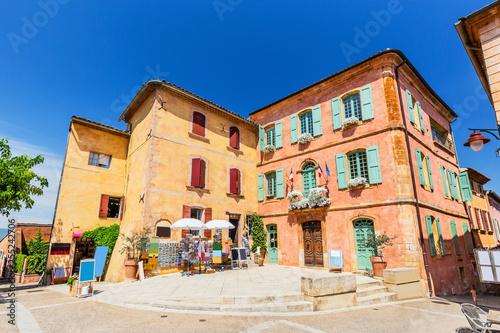 Fototapeta Rousillon, France.
