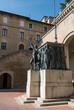 Monument of Girolamo Gozi and defenders of freedom 1739-1740 in San Marino