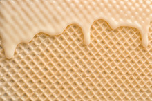 Hot White Chocolate On Wafer, ...