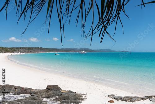 Cuadros en Lienzo Whitehaven Beach, Hamilton Island, Australia