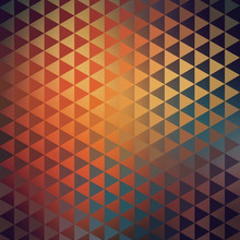 Abstract Geometric Triangular Native American Tribal Texture
