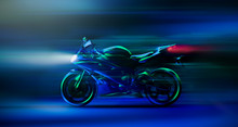 Futuristic High Speed Racing M...