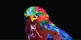 Colorful vector animals eps