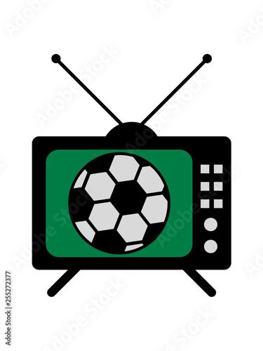 Fussball Fernseher Sport Spielen Verein Team Fan Tv