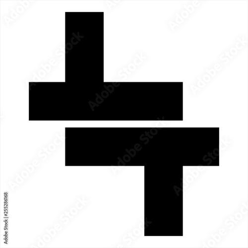 LT, TT initials geometric letter company logo - Buy this stock