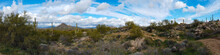 Panorama Of Brown's Ranch In Scottsdale Arizona