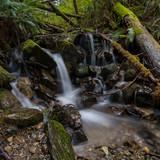 Fototapeta Tęcza - Little Creek Waterfall