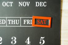 Show Saturday Of Blackboard Ty...
